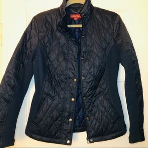 MERONA Navy Woven Light Jacket